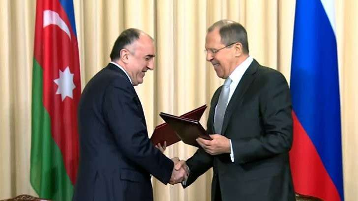Пресс-конференция Сергея Лаврова и руководителем МИД Азербайджана