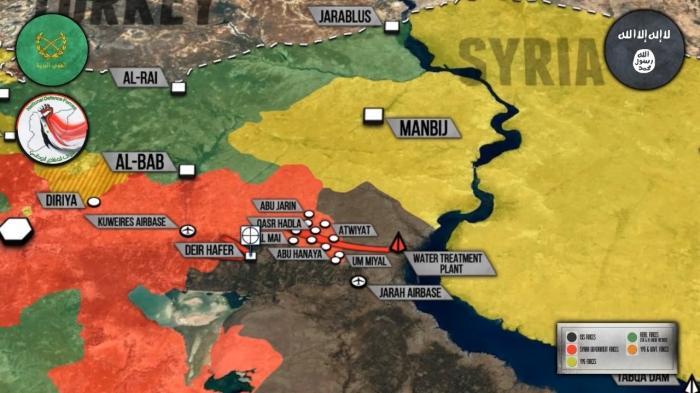 Сирия: правительственная армия заняла Манбидж. Турки пока не рискуют сунуться