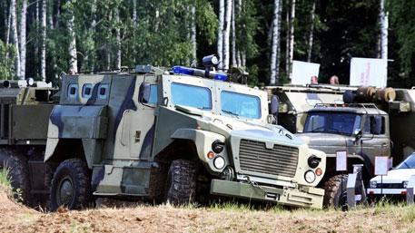 Суровый «Медведь» спасет от мины: на что способна российская бронемашина