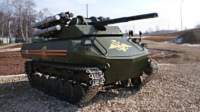 Перевооружение: боевые роботы, для чего они нужны российской армии?