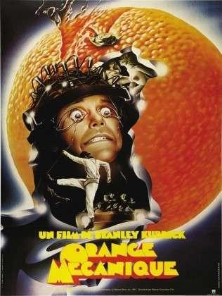 Заводной апельсин. Постер