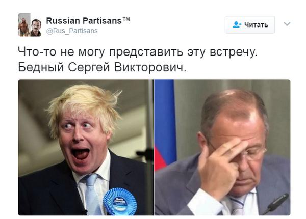 Нечёсанный министр Барух Джонсон поедет в Москву делать КУ