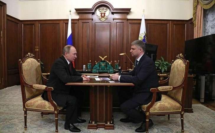 Встреча сглавой ОАО «Российские железные дороги» Олегом Белозёровым.