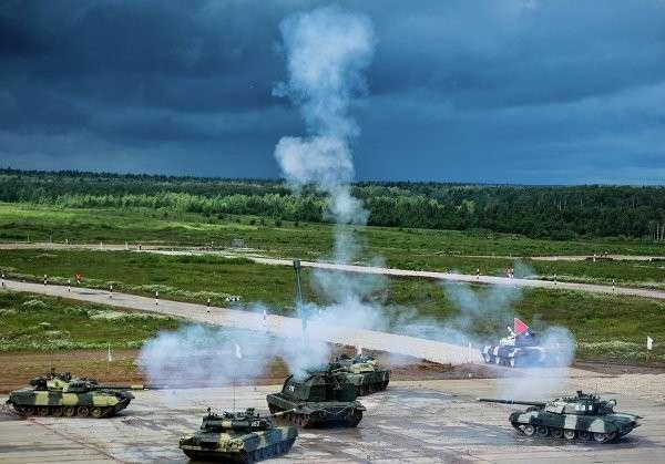 Чемпионат мира по танковому биатлону будут освещать 700 журналистов