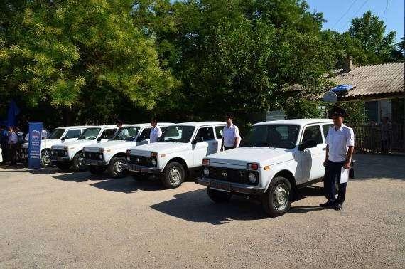 Крымские полицейские получили новые служебные автомобили