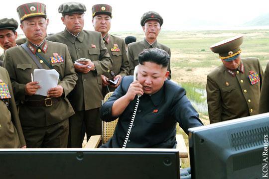 Стратегические силы КНДР приготовились к нанесению ядерного удара