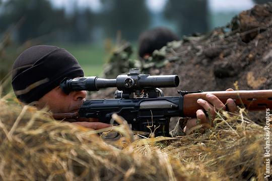За Гиви и Моторолу: снайпер ДНР ликвидировал одного из лучших боевиков «Правого сектора»