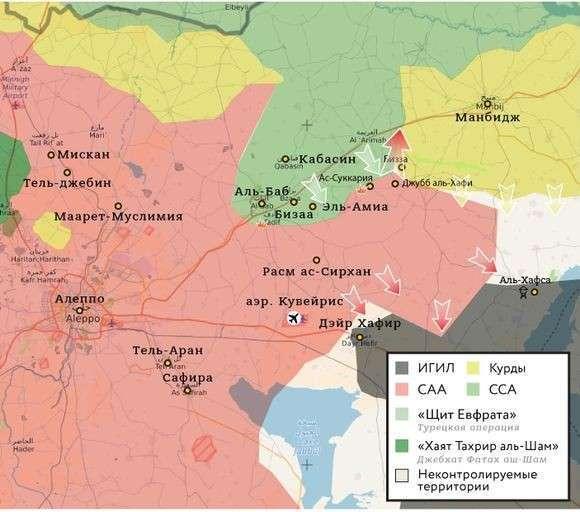 Вся Сирия пришла в движение: сирийская армия и курды наступают по всем фронтам