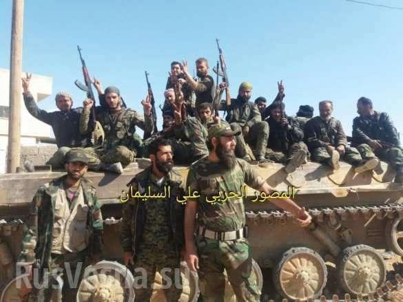 СРОЧНО: Оборона ИГИЛ рухнула под ударами ВКС РФ и «Тигров», освобождены большие территории у реки Евфрат (ФОТО, ВИДЕО, КАРТА) | Русская весна