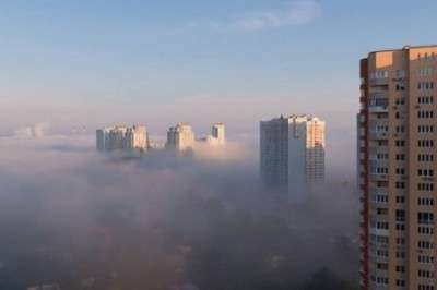 Смог и гарь в Киеве: столичные ТЭЦ топят неочищенным углем. Привет блокираторам Донбасса!