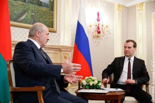 Александр Лукашенко: Дмитрию Медведеву кое за что тоже придется Заплатить