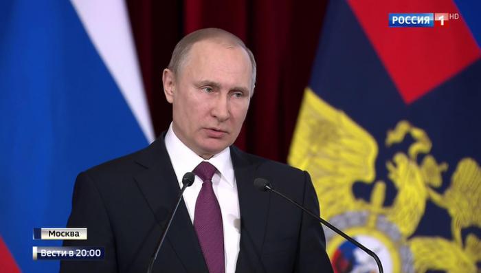 Владимир Путин: второй Росгвардии в России не будет