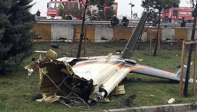 Теракт: в Турции разбился вертолёт с россиянами во время встречи Владимира Путина и Эрдогана
