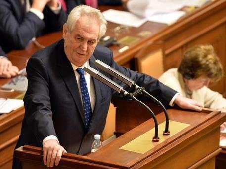 Президент Чехии назвал себя агентом РФ, Китая и США и заявил что хочет отмены антироссийских санкций