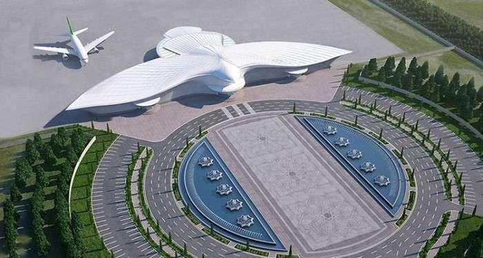 Жемчужина Востока. Ашхабадскому аэропорту всего полгода, а он уже попал в Книгу рекордов Гиннесса