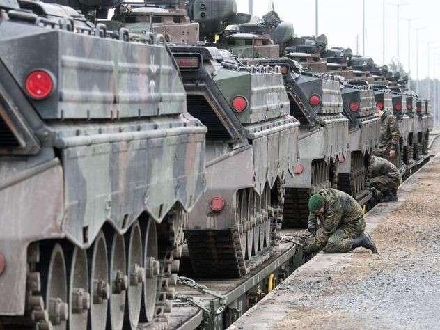 Немецкие войска подошли к границам РФ впервые со времен Второй мировой