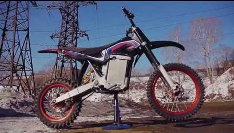 Первый российский электромотоцикл. Невозможное становится возможным!