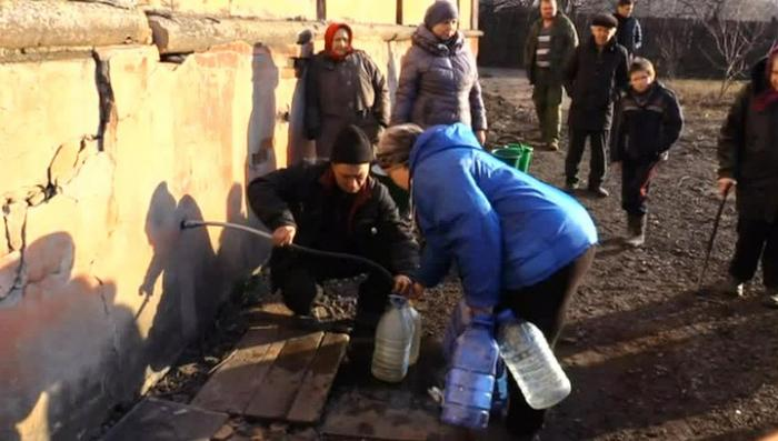 Киевские каратели оставили без питьевой воды население нескольких городов ЛНР