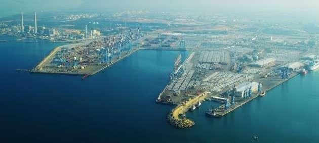 Порт Ашдод. Израиль