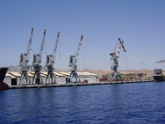 Порт Эйлат. Израиль