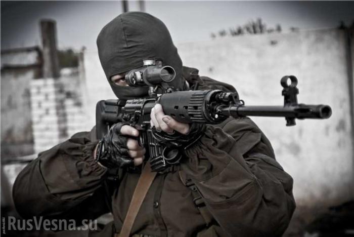 ДНР: огонь снайперов по вспышкам карателей ВСУ. Невероятная точность
