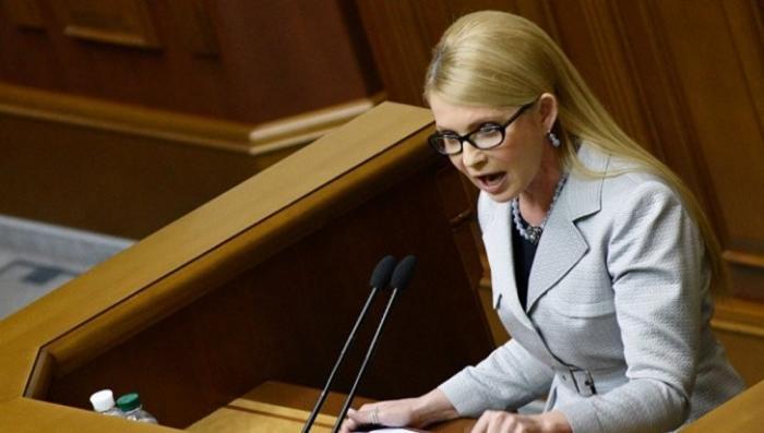 Юлия Тимошенко заявила, что на Украине внешнее управление совершается через марионеточную власть