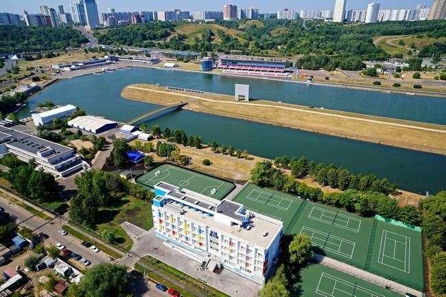 В Москве завершена реконструкция Гребного канала в Крылатском