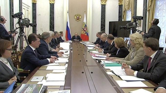 Владимир Путин провёл совещание счленами Правительства. Успехи в зравоохранении