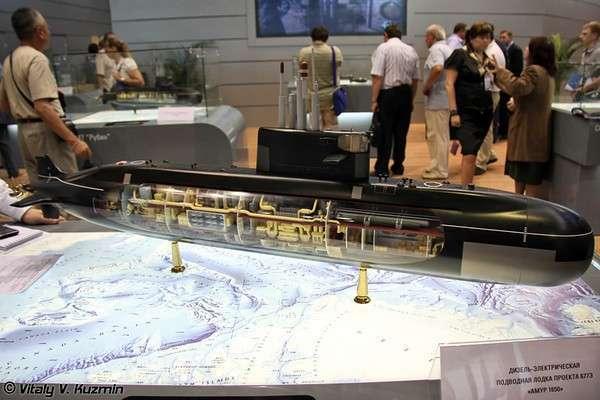 ВМС Индии хотят приобрести в России две подводные лодки проекта 677