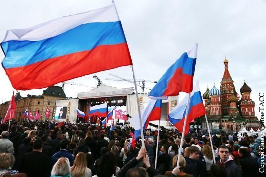Оценка гражданами влияния России в Мире достигла максимума
