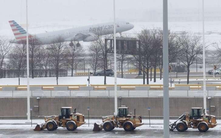 США: снегопады и метели стали причиной гибели людей