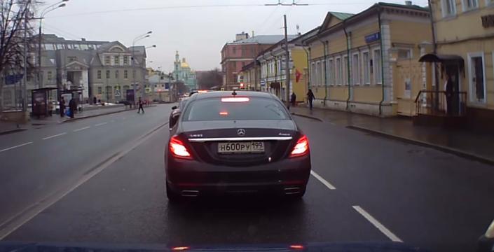 Беспредел в центре Москвы. Даже смотреть... и то страшно!