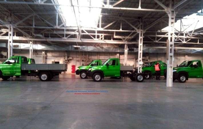 УАЗ приступил ктестовому производству новой модели Cargo