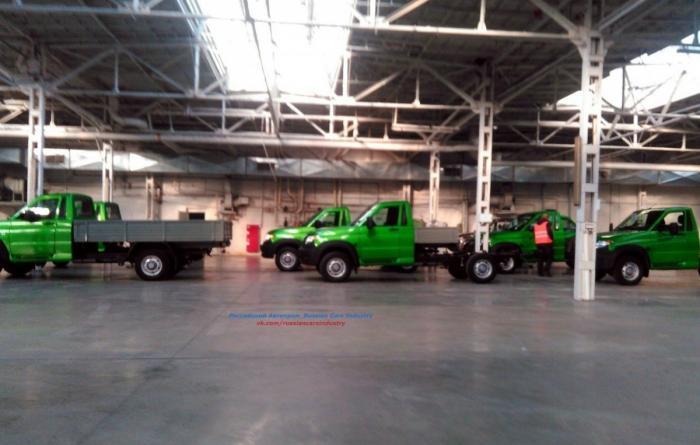 Ульяновский автозавод приступил ктестовому производству новой модели УАЗ Cargo