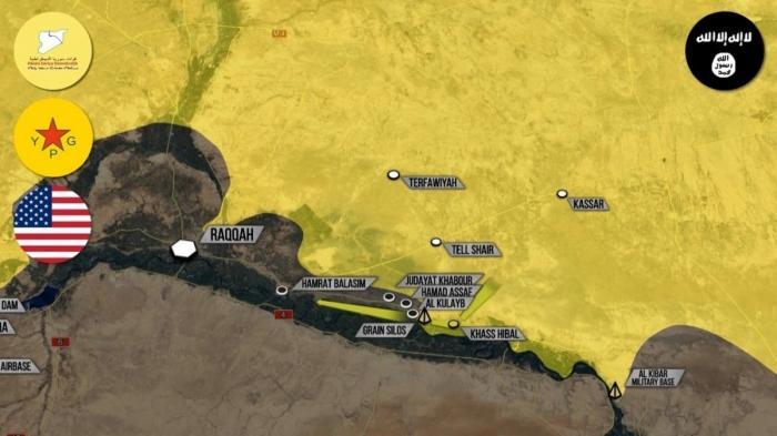 Сирия: США и курды окружают Ракку. Высоты у Пальмиры взяты