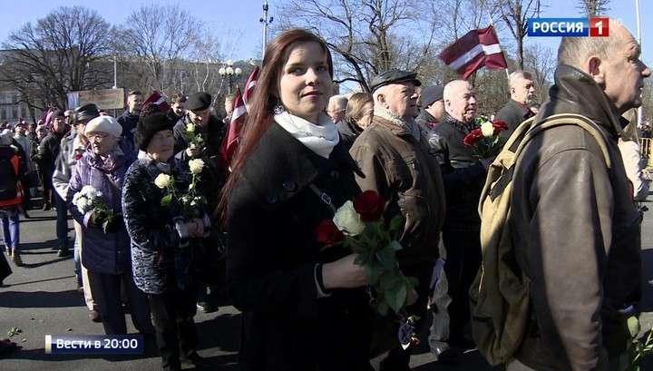 В Риге прошел марш ветеранов Ваффен СС и их наследников – неонацистов