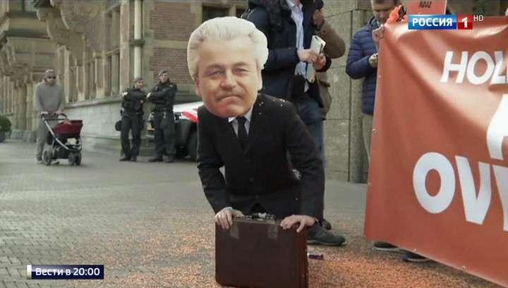 В Голландии на выборах в парламент пришли мигранты и те, кто будет с ними бороться