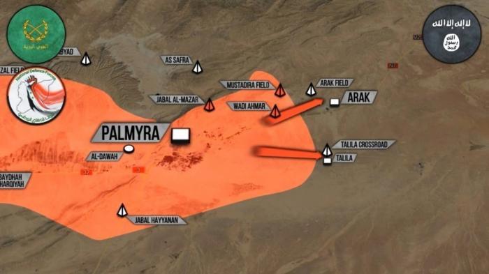 Сирия: армия решительно наступает в Алеппо и Пальмире. Выпуск Русского Легиона