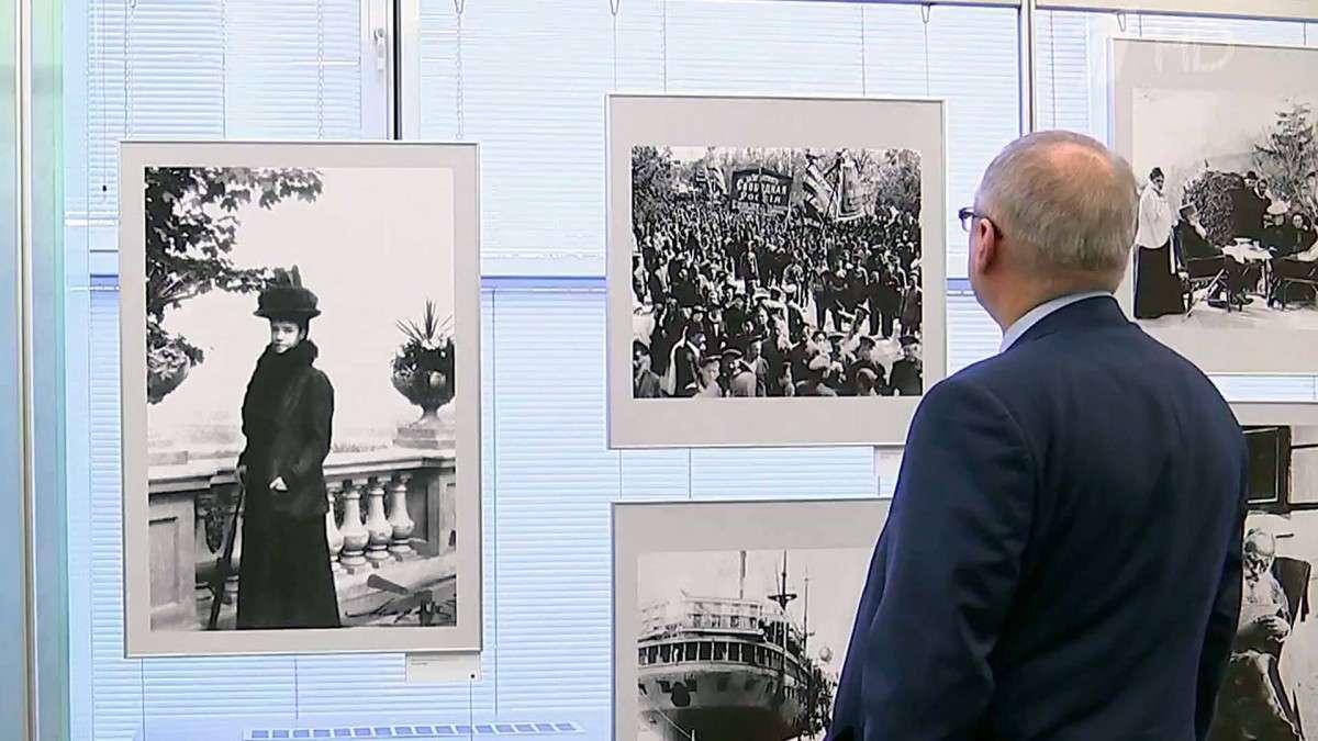В Госдуме открылась выставка в честь третьей годовщины воссоединения Крыма с Россией