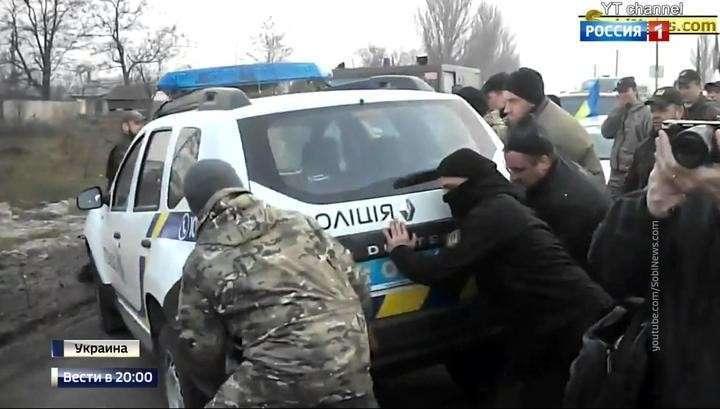 Граждане Украины сами пытаются разорвать блокаду националистами Донбасса