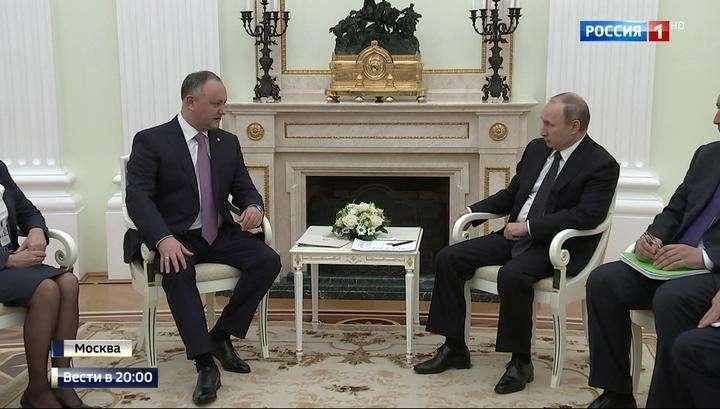 Президент Молдавии Игорь Додон снова в Москве: что изменилось с момента первого визита