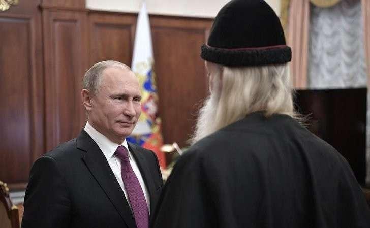 СМитрополитом Московским ивсея Руси Русской православной старообрядческой церкви Корнилием.