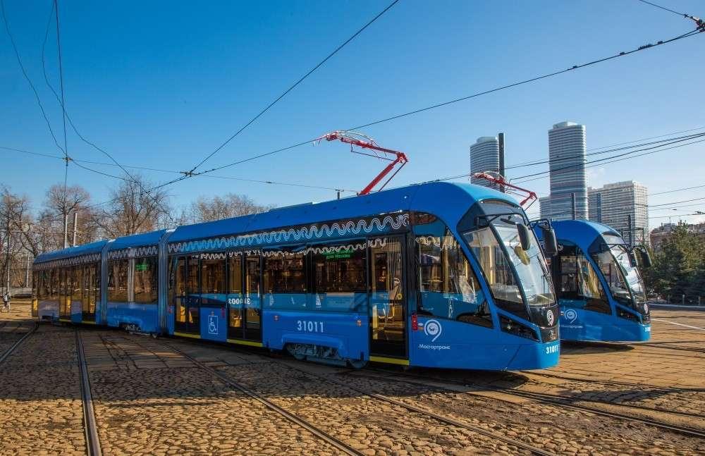 Москва получит 300 новых трёхсекционных красавцев-трамваев модели «Витязь-М»