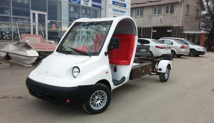 В Крыму налаживают производство электромобилей