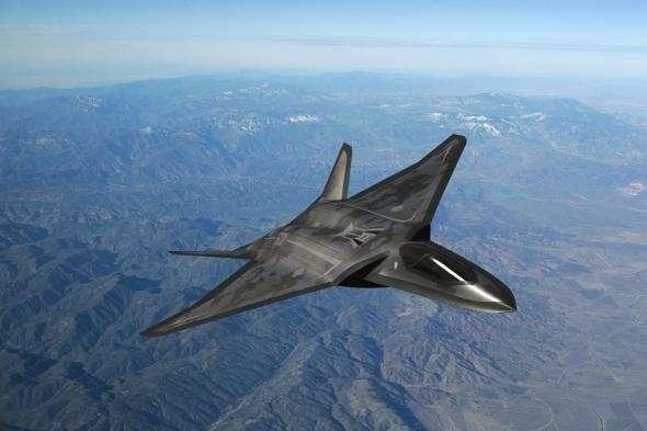 Истребитель 6-го поколения вооружат электромагнитными пушками