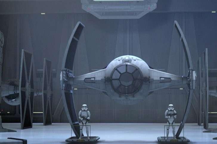 Наш истребитель будет чем-то похож на этот корабль из