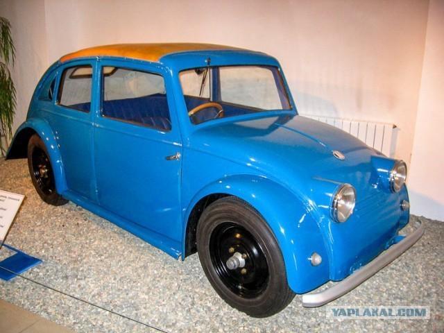 Легендарный Фольксваген «Жук» был украден у чехов (изначально Tatra 570)