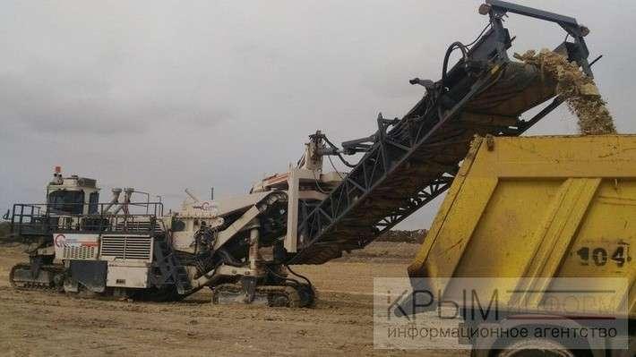 Ход строительства на одном из самых сложных участков трассы «Таврида»
