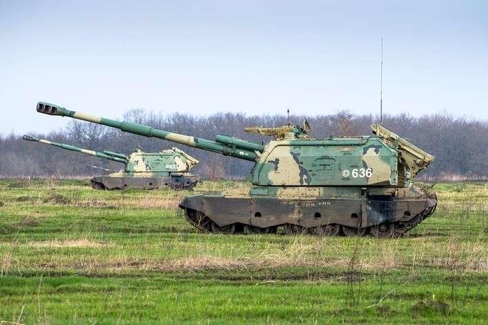 ВКраснодарском крае испытали новые модернизированные САУ «Мста-С2»