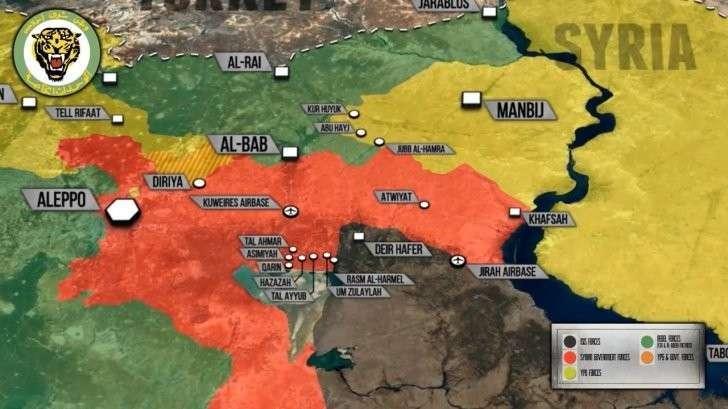 Сирия: Тигры рвуться на Юг. Успехи в Мосуле